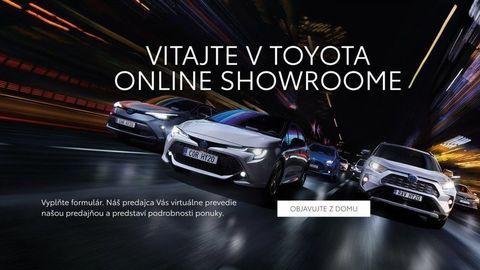 Toyota spustila online showroom. Auto si kúpite cez internet
