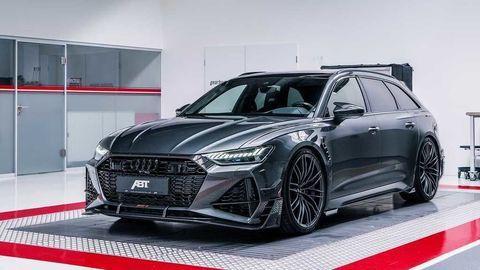 Audi RS6-R ABT: Ešte šialenejší rodinný superšport!
