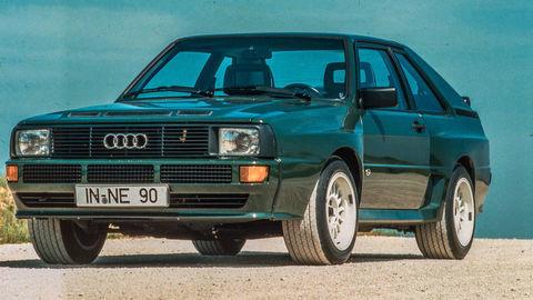 Audi Quattro má 40 rokov