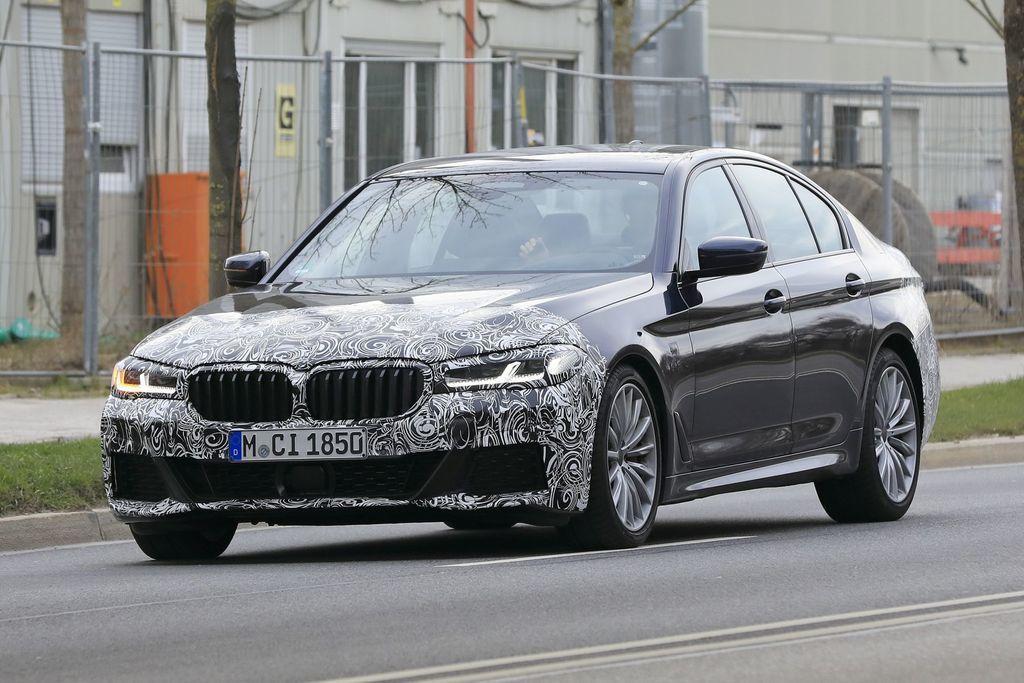 BMW 5 2020 facelift