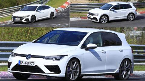 VW chystá nálož rýchlych modelov! Tu sú Arteon R, Golf R a Tiguan R