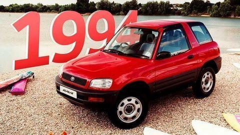 Toyota RAV4: 26 rokov, 5 generácii a viac ako 10 miliónov kusov