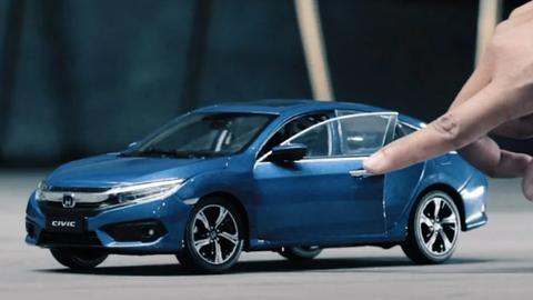 Honda natočila unikátnu minimalistickú reklamu