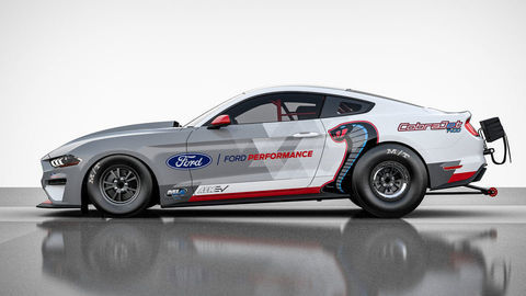 Elektrický Mustang Cobra Jet 1400 zvládne štvrť míle do 8 sekúnd!