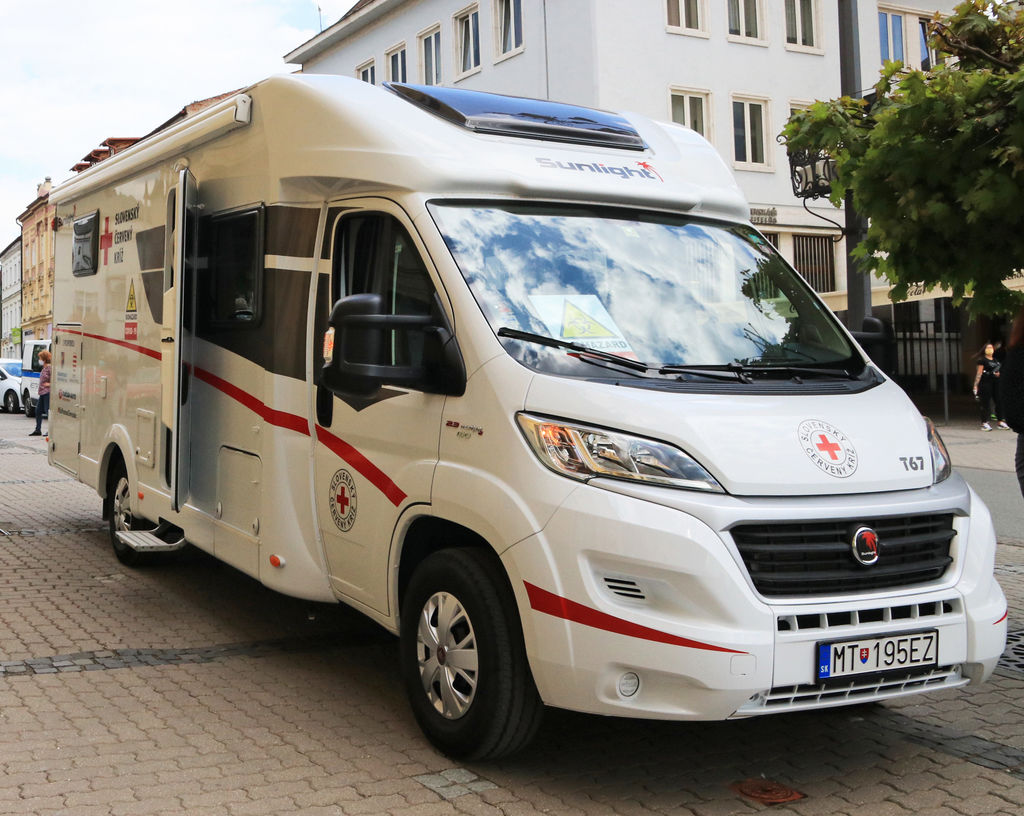 špeciálny karavan