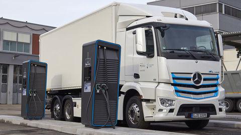 Nabíjacia infraštruktúra pre e-trucky