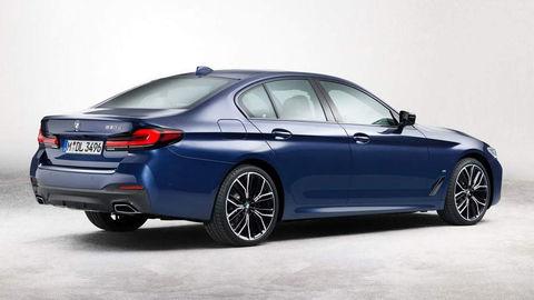 Modernizované BMW 5 na prvých obrázkoch, obličky mu nenarástli