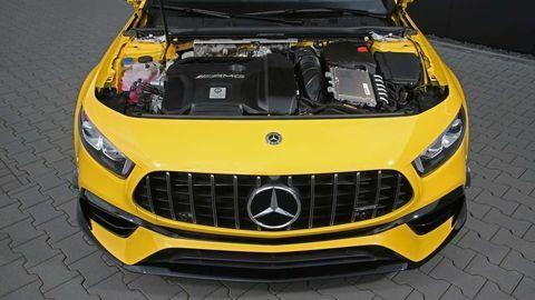 Mercedes-Benz A45 RS 525 má divý štvorvalec s výkonom osemvalcov!