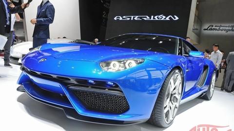 Hybridný superšport: Lamborghini Asterion