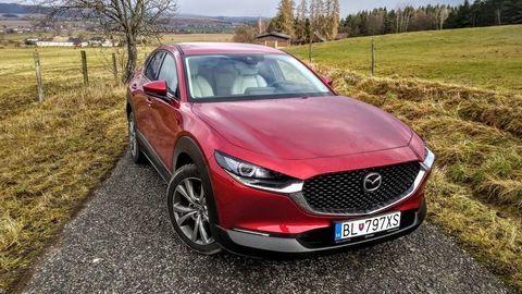 TEST Mazda CX-30 SkyActiv-X: Bez revolúcie, ale motor funguje dobre