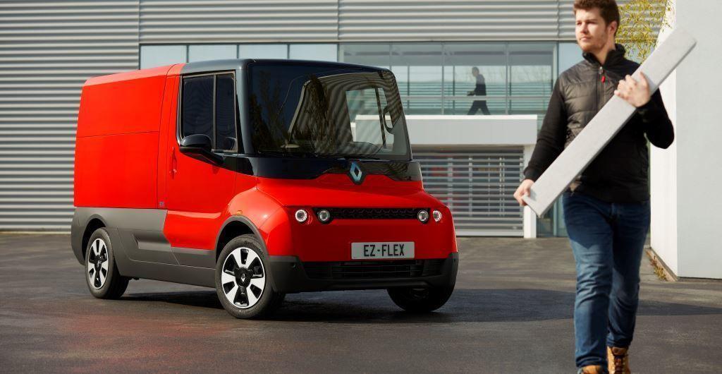Renault doručovanie zásielok