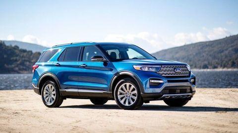 Ford prináša doEurópy veľké SUV Explorer