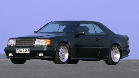 Mercedes-AMG kupé Triedy E je pojmom už viac ako 30 rokov!