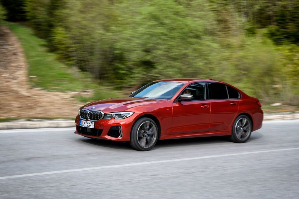 BMW m340i video test