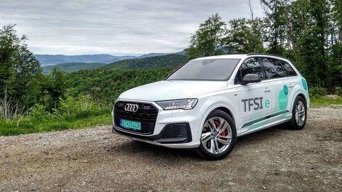 TEST Audi Q7 60 TFSI e Quattro PHEV: Velikán s elektrickým dopingom
