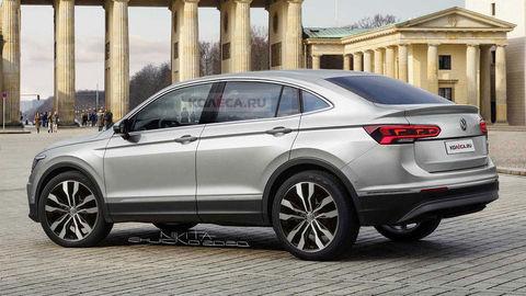 Takto môže vyzerať VW Tiguan Coupé. Uchytil by sa aj u nás