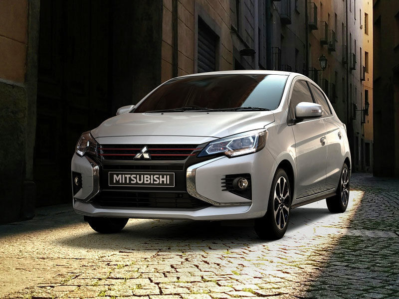 Mitsubishi SpaceStar 2020 facelift