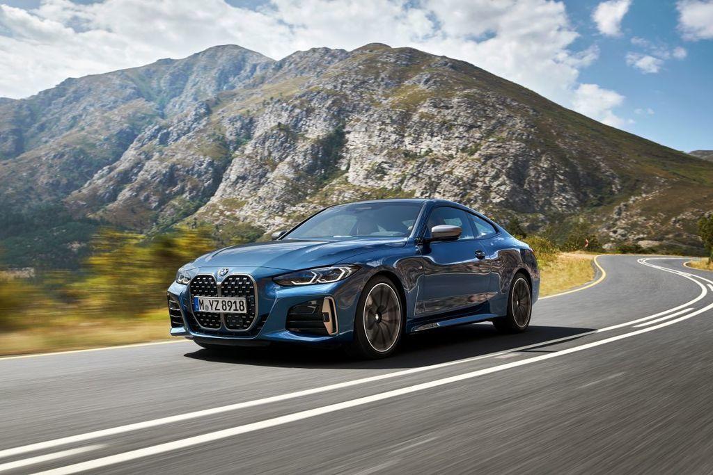 nové BMW 4 Coupé 2020