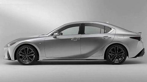 """Toto je nový Lexus IS 2021! """"Unikol"""" tesne pred premiérou"""