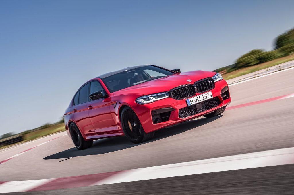 Nové BMW M5 2021
