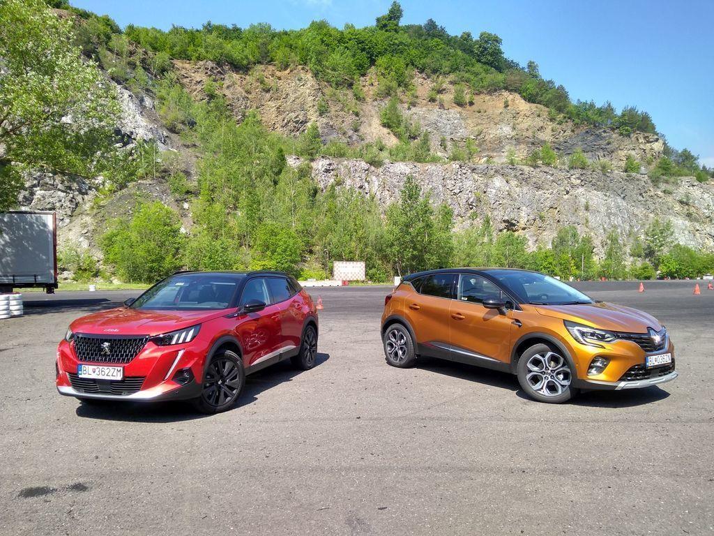 TEST Peugeot 2008 1.2 a Renault Captur 1.3: Rovnakí a predsa iní