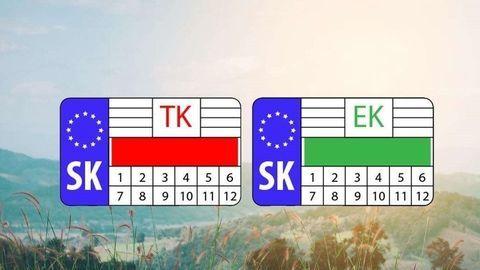 Zmena! Nálepky TK a EK majú skončiť. Dôvod je logický