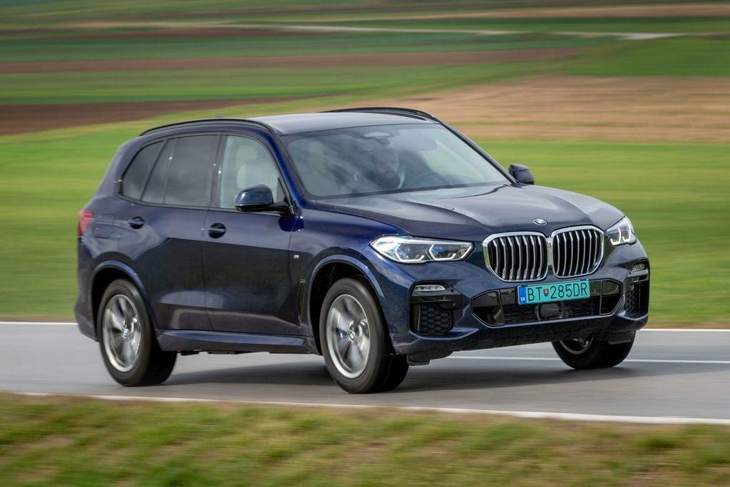 Test BMW X5 45e plug-in hybrid
