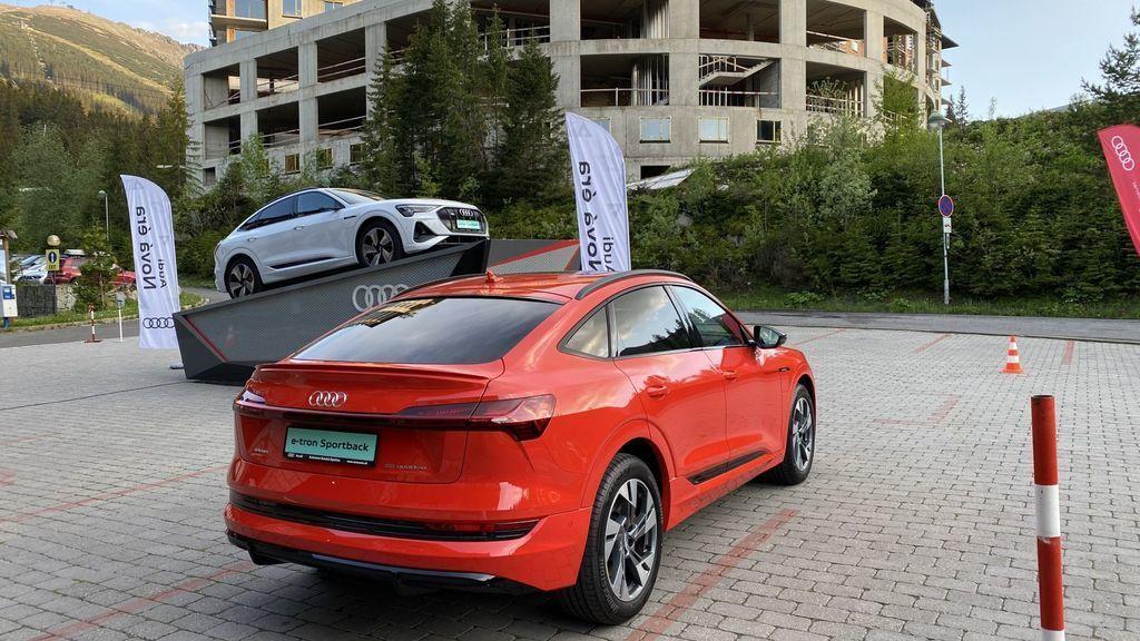 Audi e-tron Sportback na 12. zraze Audi Club International Slovensko
