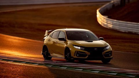 Honda Civic Type-R Limited Edition dosiahla rekord na okruhu Suzuka