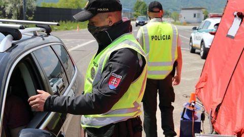 Vodiči pozor. Na hraničných priechodoch sa uskutoční policajná akcia