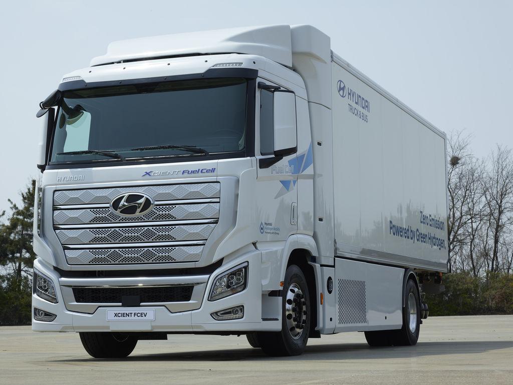 vodíkový kamión Hyundai