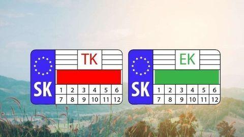Nálepky TK a EK (zatiaľ) ostávajú. Dôvod je bizarný