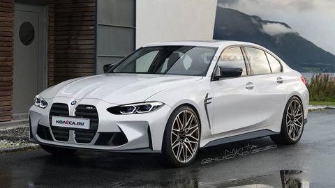 """Nové BMW M3 môže vyzerať takto. """"Obličky"""" si požičia od 4 Coupé"""