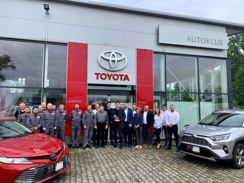 Toyota Poprad Autoklub
