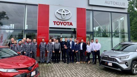 Toyota v Poprade je slovenskou jednotkou