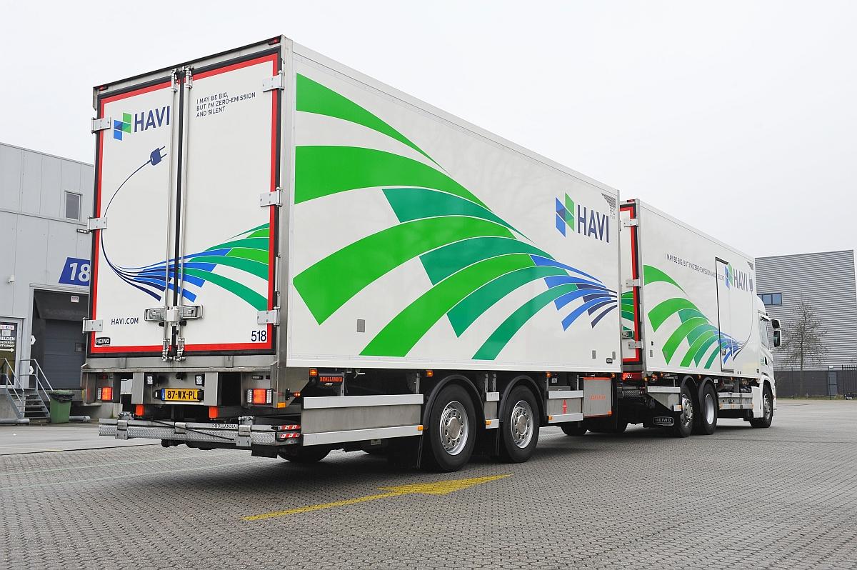HAVI streeft naar zero-emissie met elektrificatie