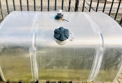 DAF aluminium brandstoftank