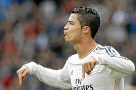Криштиану Роналду больше всех забил в 2013 году