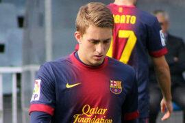 «Милан» может арендовать у «Барселоны» Жерара Деулофеу
