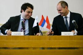 Состоялась рабочая встреча Саида Гуцериева и Дениса Паслера