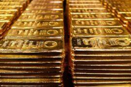 Центробанк приостановил операции по покупке золота для золотовалютного запаса России