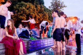 Столичные школьники отпраздновали выпускной в парке Горького