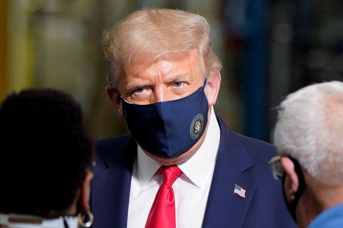 У президентской четы Трамп диагностирован COVID-19