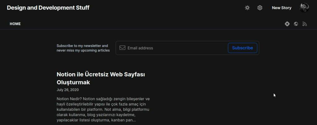 En iyi Blog Siteleri: Hashnode