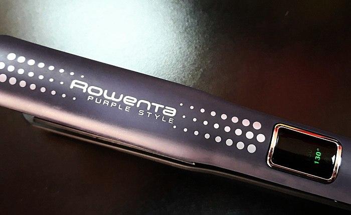 Mükemmel bukleler için saç düzleştirici ve saç düzleştirici Rowenta SF6010F0