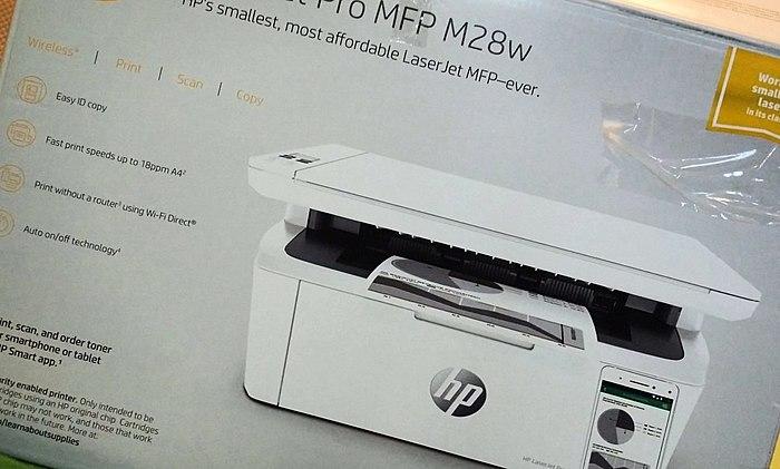 Oh, come un produttori di stampanti HP! L'ultima novità - stampante MULTIFUNZIONE HP LaserJet Pro MFP M28w. Questo gadget è più intelligente di me=)