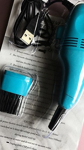 Useful device or a useless trinket? Mini vacuum cleaner for computer keyboard performs its functions, BUT how? And how many problems will be faced in operating a PHOTO Before and After