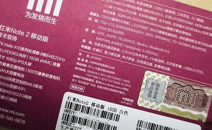 Xiaomi Redmi Note 2 16gb - perfect machine for little money!
