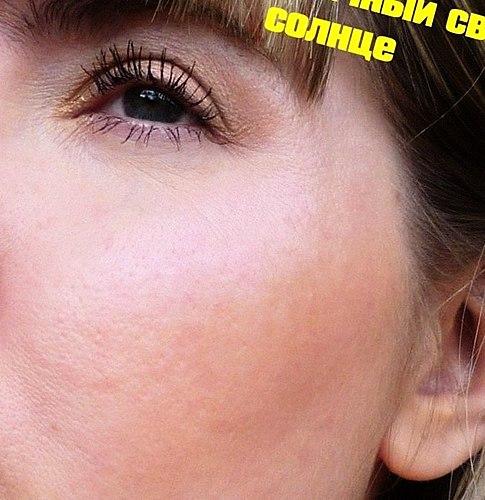 Дуохром Becca Shimmering Skin Perfector Pressed Prismatic Da Ametista. Experiência em oleosa poroso pele , e também onde comprar mais barato. Foto em seu rosto em diferentes iluminações