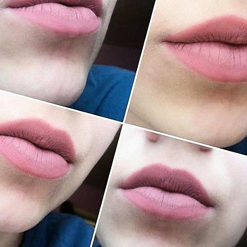 Deux mois de teint lèvres ne sont pas correctement! Comment encore? Deux magiques de la teinte : #436 (BIRTHDAY SUIT), #1037 (SHABBY CHIC).